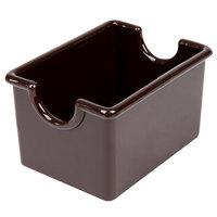 Brown Plastic Sugar Caddy