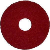 Bissell Commercial 437.055BG 12 inch Red Floor Polishing Pad for BGEM Series Orbital Floor Machines