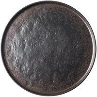 Tablecraft 123517BR Lunara 14 inch Brown Round Melamine Platter