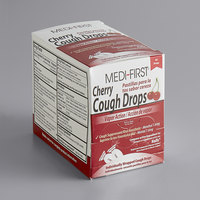 Medique 81550 Medi-First Cherry Cough Drops   - 50/Box