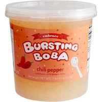 Bossen 7.26 lb. Embrace Chili Pepper Bursting Boba - 4/Case