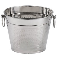 American Metalcraft O2BWB 7 Qt. Stainless Steel 2 Bottle Wine Bucket