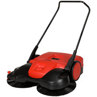 Bissell Commercial BG-497 38 inch Triple Brush Manual Power Sweeper