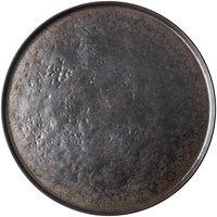 Tablecraft 123519BR Lunara 18 inch Brown Round Melamine Platter