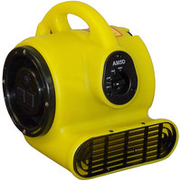 Bissell Commercial AM5D Yellow 3-Speed Mini Air Mover - 1/5 HP