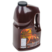AAK Grill Blazin' Barbecue Sauce 1 Gallon Jars - 4/Case