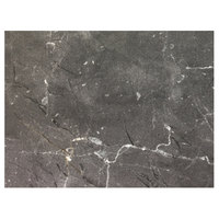 Grosfillex US24D791 Exterior Vanguard 24 inch x 32 inch Gray Marble Outdoor Table Top