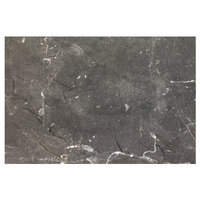 Grosfillex US48D791 Exterior Vanguard 48 inch x 32 inch Gray Marble Outdoor Table Top