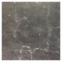 Grosfillex US32D791 Exterior Vanguard 32 inch Square Gray Marble Outdoor Table Top