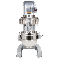 Hobart Legacy HL662-1STD 60 Qt. Commercial Planetary Floor Pizza Mixer with Standard Accessories - 200/240V, 2 7/10 hp