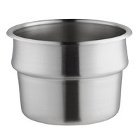 Vollrath 65S Stainless Steel 3 Qt. Vegetable Inset