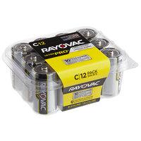 Rayovac ALC-12PPJ Ultra Pro Industrial C Alkaline Batteries   - 12/Pack