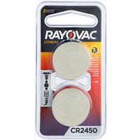 Rayovac KECR2450-2G 3V CR2450 Lithium Coin Button Batteries - 2/Pack