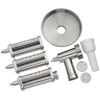 Avantco MIX8XMGP #5 Hub Meat Grinder and Pasta Roller/Cutter Attachment Kit for Avantco MIX8 Mixers