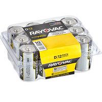 Rayovac ALD-12PPJ Ultra Pro Industrial D Alkaline Batteries   - 12/Pack