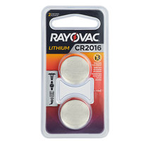Rayovac KECR2016-2G 3V CR2016 Lithium Coin Button Batteries - 2/Pack