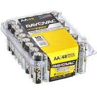Rayovac ALAA-48PPJ Ultra Pro Industrial AA Alkaline Batteries   - 48/Pack