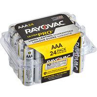 Rayovac ALAAA-24PPJ Ultra Pro Industrial AAA Alkaline Batteries   - 24/Pack