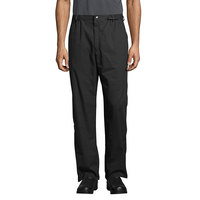 Uncommon Threads 4020 Unisex Black Customizable Executive Chef Pants - XL