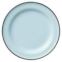 Luzerne L2105009152 Tin Tin 10 3/4 inch Blue Porcelain Plate by Oneida - 12/Case