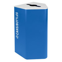 Ex-Cell Kaiser RC-KD25-ARC-C RYX Kaleidoscope XL Series Royal Blue Texture 25 Gallon Cans / Bottles Receptacle