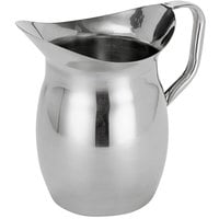 American Metalcraft WP68 68 oz. Stainless Steel Bell Pitcher