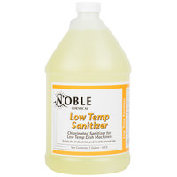 Noble Chemical 1 Gallon / 128 oz. Low Temp Dish Washing Machine Sanitizer - 4/Case