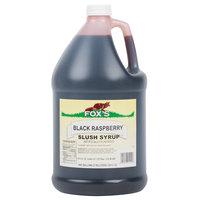 Fox's 1 Gallon Black Raspberry Slush Syrup
