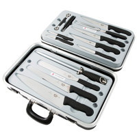 Victorinox 46552 14-Piece Fibrox Handle Garnishing Kit