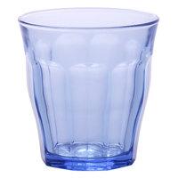 Duralex 1028BB06 Picardie Marine 10.875 oz. Stackable Glass Tumbler - 48/Case