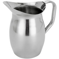 American Metalcraft WP100 100 oz. Stainless Steel Bell Pitcher