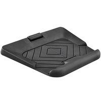 Safco 2125BL Active 27 inch x 29 inch Black Anti-Fatigue Mat