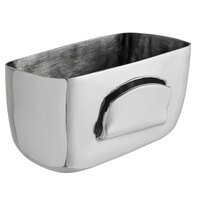 Vollrath 46796 2 1/2 inch Stainless Steel Condiment Caddy / Card Holder