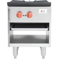 Cooking Performance Group CPG-SP-18-2 Gas Stock Pot Range - 70,000 BTU