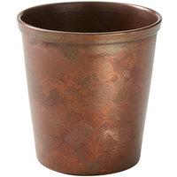 American Metalcraft AC4 4 oz. Satin Antique Copper Mini Cup