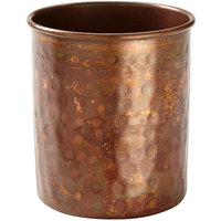 American Metalcraft ACCH 14 oz. Hammered Antique Copper Cup