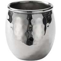 American Metalcraft MMSH 2.5 oz. Hammered Stainless Steel Mini Moscow Mule Shot Glass