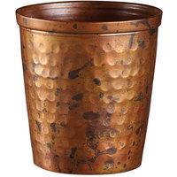 American Metalcraft ACH4 4 oz. Hammered Antique Copper Mini Cup