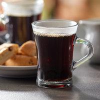 Duralex 4001AR06 Amalfi 6 oz. Stackable Glass Espresso Mug - 6/Pack