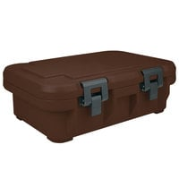 Cambro UPCS140131 Camcarrier S-Series® Dark Brown Top Loading 4 inch Deep Insulated Food Pan Carrier