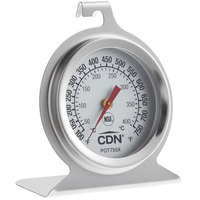 CDN POT750X ProAccurate 2 inch Dial High-Heat Oven Thermometer