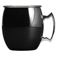 Arcoroc FK492 16 oz. Mirrored Black Moscow Mule Mug by Arc Cardinal - 12/Pack