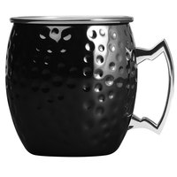 Arcoroc FK493 16 oz. Hammered Black Moscow Mule Mug by Arc Cardinal - 12/Pack