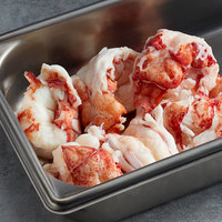 Boston Lobster Company 4 lb. Fresh Lobster Tail Meat - 2/Case