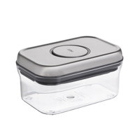 OXO 3114200 .5 Qt. SteeL POP Rectangular Container with Stainless Steel POP Lid