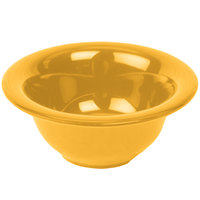 Thunder Group CR5510YW Yellow 10 oz. Melamine Soup Bowl - 12/Case