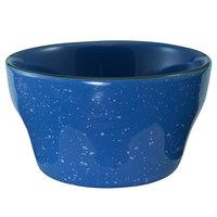 International Tableware CF-4 Campfire 8 oz. Speckle Ocean Blue Stoneware Bouillon - 36/Case