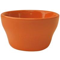 International Tableware CA-4-O Cancun 8 oz. Orange Stoneware Bouillon - 36/Case