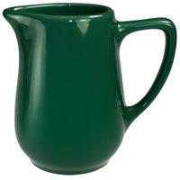 International Tableware CA-60-G Cancun 13 oz. Green Stoneware Creamer - 36/Case