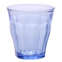 Duralex 1027BB06 Picardie Marine 8.75 oz. Stackable Glass Tumbler - 6/Pack